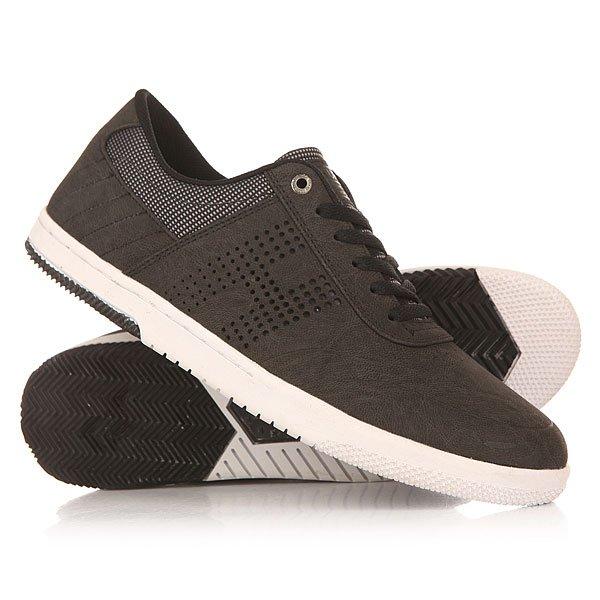 Кроссовки Huf Hufnagel 2 Black/BallisticКроссовки HUF Hufnagel 2 -осенью компанияHUFпорадовала нас множеством новых моделей обуви и на одну из них особо хотелось бы обратить ваше внимание. Речь пойдет о второй про-модели, основателя компании HUF, и по сей день активного райдера, легенды скейтбординга - Кита Хафнагеля (Keith Hufnagel).Характеристики:Стелька Ortolite и дополнительный слой пены EVA.  В местах особо подверженным износу шов спрятан под замш премиум класса, запаян и покрыт специальным полимером, что в свою очередь исключает вариант с возможным разрывом по шву при перетёртых или повреждённых шовных нитях. Верх из кожи. Классическая плоская шнуровка. Перфорация по бокам. Вулканизированная подошва.<br><br>Цвет: серый<br>Тип: Кроссовки<br>Возраст: Взрослый<br>Пол: Мужской