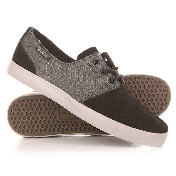 Кеды кроссовки низкие Circa Crip Black/Moon<br><br>Цвет: серый,черный<br>Тип: Кеды низкие<br>Возраст: Взрослый<br>Пол: Мужской