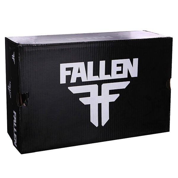 Кеды кроссовки низкие Fallen The Easy Black/Iron Splatter