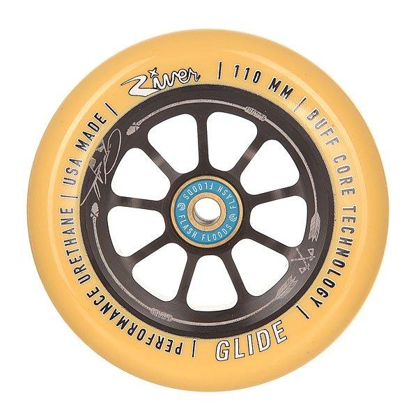 Колесо для самоката River 110 Мм Glide Ryan Gould Savage Gum On BlackНабор колес для вашего самоката. Характеристики:Материал: анодированный алюминий. Диаметр: 110 мм. Вес: 212 г. Идеально подходят для паркового катания. Сделано в США Andrew Broussard (PROTO).<br><br>Цвет: черный,желтый<br>Тип: Колесо для самоката<br>Возраст: Взрослый<br>Пол: Мужской