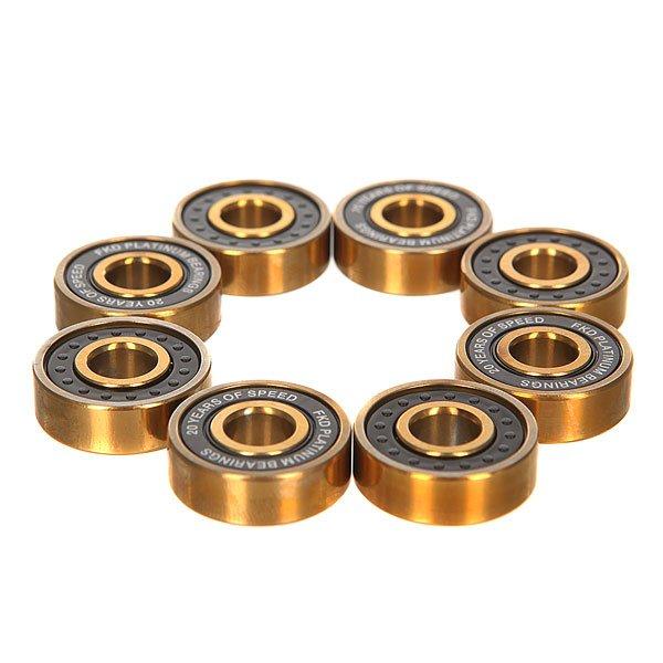 Подшипники для скейтборда FKD Black Lights ABEC 7 Platinum