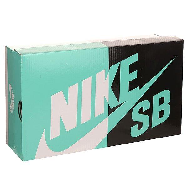 Кеды кроссовки низкие Nike Zoom Stefan Janoski Og Black/White-Gum/Light Brown