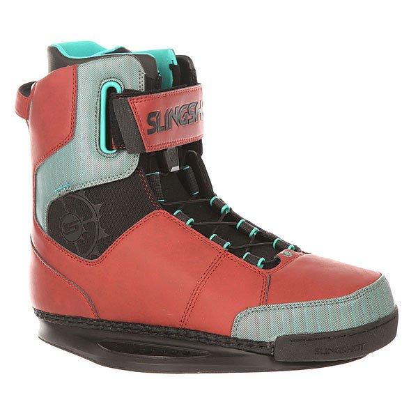 Крепления для вейкборда Slingshot RAD RedСтильные ботинки с качественными характеристиками. Облегающий вкладыш Reflex и комбинированная система застежки на шнурках и липучках Trifecta-S Velcro позволит настроить посадку всего за несколько секунд.Технические характеристики: Особая конструкция позволяет лучше чувствовать и контролировать доску.Защита пятки тройной плотности.Удобная система шнуровки с верхней застежкой на липучке Trifecta-S Velcro.Стелька из пены EVA.Внутренник Reflex - ботинок легко надевать и снимать за счёт удобного внутренника с нескользящим материалом.Встроенные J-вставки, устраняющие подъем пятки и добавляющие устойчивость лодыжки.3D формованный язычок.Прочные швы.<br><br>Цвет: коричневый,голубой<br>Тип: Крепления для вейкборда<br>Возраст: Взрослый<br>Пол: Мужской