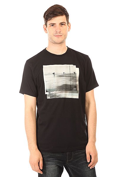 Футболка Billabong Session Ss Black