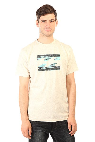 Футболка Billabong Team Wave Lt Grey Heather