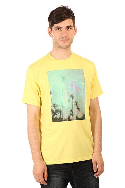 Футболка Billabong Tropichaze Ss Dust Yellow