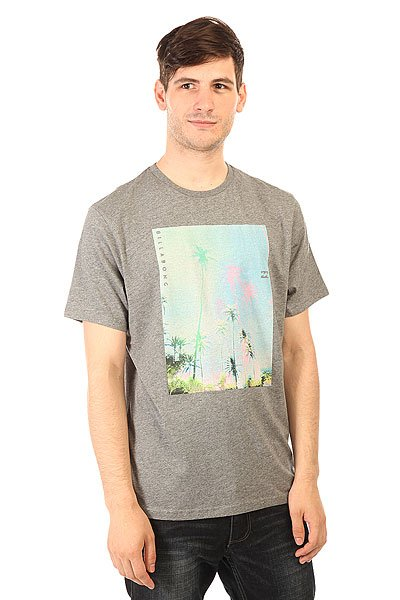 Футболка Billabong Tropichaze Ss Grey Heather