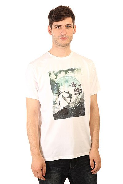 Футболка Billabong Elevation Ss White