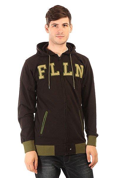 Толстовка классическая Fallen Forge Sweat Black/Surp Green<br><br>Цвет: черный,зеленый<br>Тип: Толстовка классическая<br>Возраст: Взрослый<br>Пол: Мужской