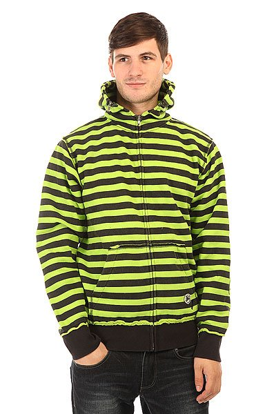 Толстовка классическая Fallen Cobra Hood Black/Lime<br><br>Цвет: черный,зеленый<br>Тип: Толстовка классическая<br>Возраст: Взрослый<br>Пол: Мужской