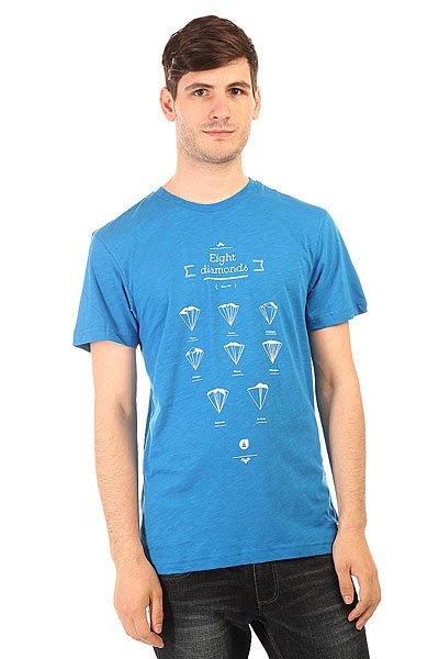 Футболка Picture Organic Diamonds Blue<br><br>Цвет: синий<br>Тип: Футболка<br>Возраст: Взрослый<br>Пол: Мужской