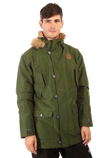 Куртка утепленная Picture Organic Hudson Khaki