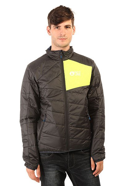 Куртка Picture Organic Atlas Black/Fluo Yellow collins picture atlas
