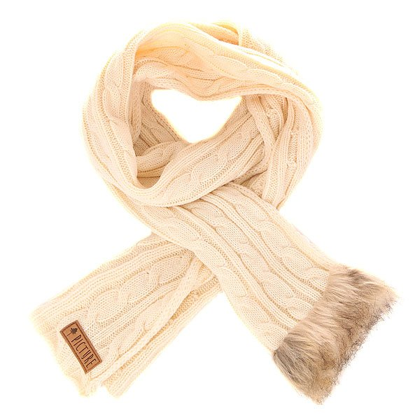 Шарф женский Picture Organic Idea Scarf White