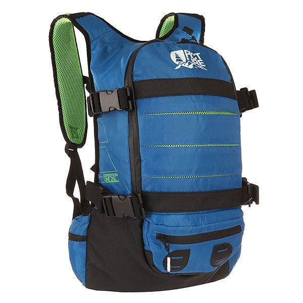 Рюкзак туристический Picture Organic Spine Backpack BlueЛегкий рюкзак для путешественников, который позволит вам иметь все необходимое под рукой, а благодаря анатомической конструкции ваша спина не будет подвергаться огромной нагрузке. Характеристики:Совместим с гидрационной системой. Регулируемые ремни для сноуборда/лыж. Мягкие регулируемые лямки. Мягкий карман для очков.Эргономическая смягченная спинка. Система вентиляции спины.<br><br>Цвет: синий,черный<br>Тип: Рюкзак туристический<br>Возраст: Взрослый
