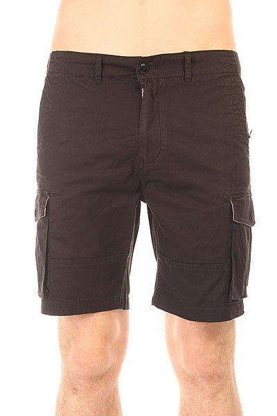 Шорты классические Globe Goodstock Cargo Walkshort Black