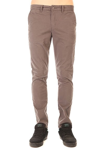 Штаны прямые Globe Goodstock Chino Grey