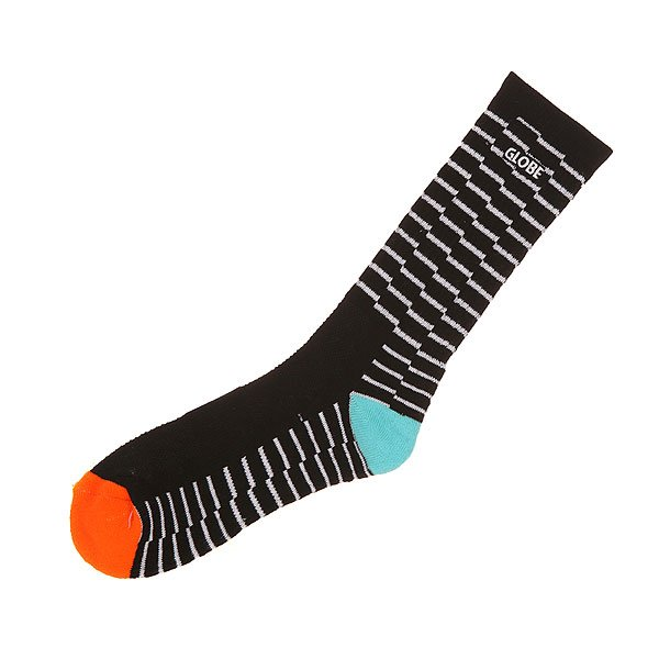 ����� ������� Globe Motion Crew Sock Black Steps