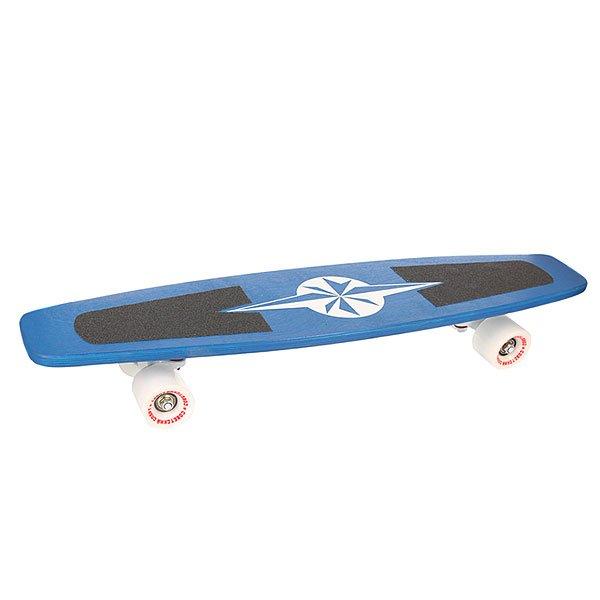 Скейт мини круизер Turbo-FB Советский Спорт NATO Blue/White 8 x 27.25 (69.2 см)