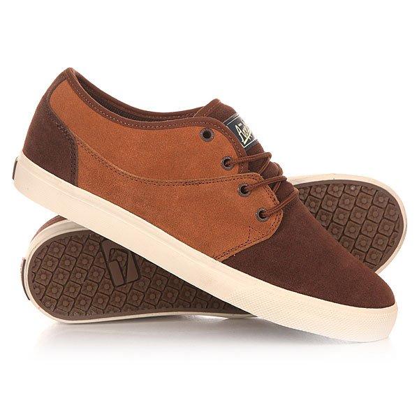Кеды кроссовки низкие Globe Mahalo Ginger/Brown