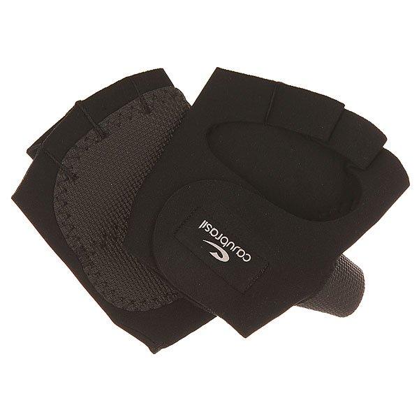 Перчатки женские CajuBrasil Luva Gloves BlackТехнологичные женские перчатки для фитнеса от CajuBrasil.Технические характеристики: Эргономичная форма.Манжета на липучке.Защита на большом пальце и ладонях.Логотип CajuBrasil.Технологии в тканях CajuBrasil: увеличение производительности и мышечной выносливости, улучшение физической работоспособности, быстрая сушка, защита от солнца и высокая степень сжатия.<br><br>Цвет: черный<br>Тип: Перчатки<br>Возраст: Взрослый<br>Пол: Женский
