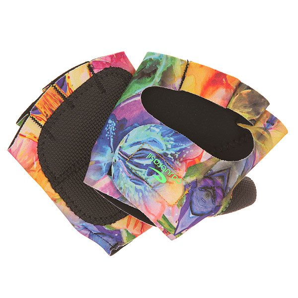 Перчатки женские CajuBrasil Luva Gloves FloraТехнологичные женские перчатки для фитнеса от CajuBrasil.Технические характеристики: Эргономичная форма.Манжета на липучке.Защита на большом пальце и ладонях.Логотип CajuBrasil.Технологии в тканях CajuBrasil: увеличение производительности и мышечной выносливости, улучшение физической работоспособности, быстрая сушка, защита от солнца и высокая степень сжатия.<br><br>Цвет: мультиколор<br>Тип: Перчатки<br>Возраст: Взрослый<br>Пол: Женский