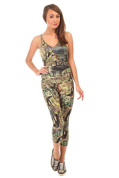 Комбинезон для фитнеса женский CajuBrasil Su Legging MultiОсновными критериями в создании одежды торговой марки CajuBrasil являются качество, прочность, долговечность, удобство и конечно же стиль. Наша одежда создана, чтобы подчеркнуть Ваши достоинства и сделать занятия спортом максимально удобными и продуктивными. Будь стильной и модной даже при занятиях спортом.Характеристики:Изготовлен из полиамида и эластана.Цельный силуэт с длинными облегающими брюками.Мягкие обработанные швы.<br><br>Цвет: мультиколор,зеленый<br>Тип: Комбинезон для фитнеса<br>Возраст: Взрослый<br>Пол: Женский
