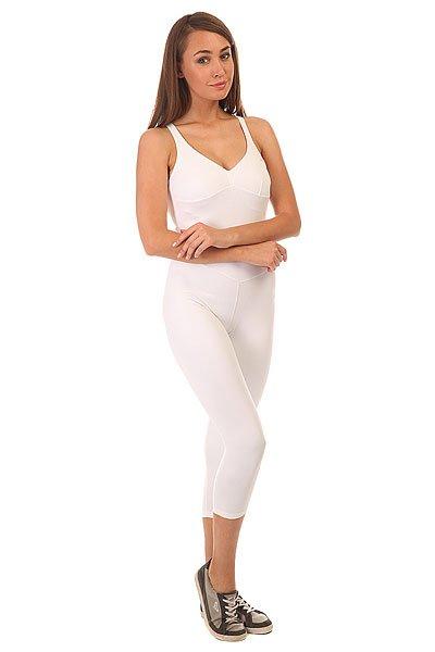 Комбинезон для фитнеса женский CajuBrasil Nz Overall Basic WhiteОсновными критериями в создании одежды торговой марки CajuBrasil являются качество, прочность, долговечность, удобство и конечно же стиль. Наша одежда создана, чтобы подчеркнуть Ваши достоинства и сделать занятия спортом максимально удобными и продуктивными. Будь стильной и модной даже при занятиях спортом.Характеристики:Изготовлен из полиамида и эластана.Цельный силуэт с длинными облегающими брюками.Мягкие обработанные швы.<br><br>Цвет: белый<br>Тип: Комбинезон для фитнеса<br>Возраст: Взрослый<br>Пол: Женский