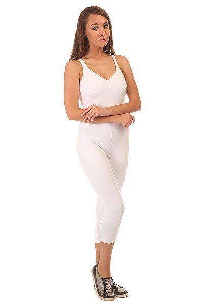 Комбинезон для фитнеса женский CajuBrasil Nz Overall Basic White