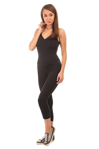 Комбинезон для фитнеса женский CajuBrasil Nz Overall Basic Black