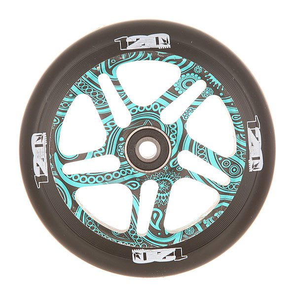 Колесо для самоката Blunt Otr Wheel 120mm WarrickКолесо для самоката Blunt.Характеристики:Диаметр колес: 120 мм. Сердечник: алюминиевый, со спицами. Твердость PU: 88А.Предустановленные ABEC 9 подшипники. Вес: 275 г.<br><br>Цвет: черный,голубой<br>Тип: Колесо для самоката<br>Возраст: Взрослый<br>Пол: Мужской
