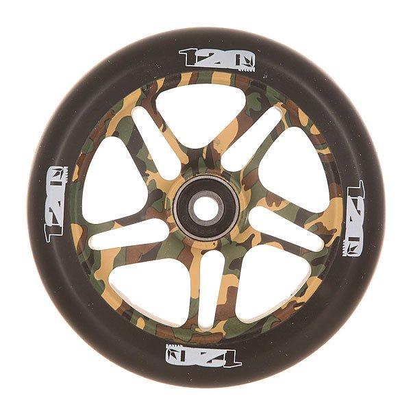 Колесо для самоката Blunt Otr Wheel 120mm CamoКолесо для самоката Blunt.Характеристики:Диаметр колес: 120 мм. Сердечник: алюминиевый, со спицами. Твердость PU: 88А.Предустановленные ABEC 9 подшипники. Вес: 275 г.<br><br>Цвет: черный,зеленый,коричневый,бежевый<br>Тип: Колесо для самоката<br>Возраст: Взрослый<br>Пол: Мужской