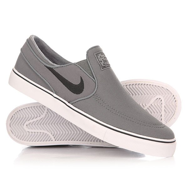 Слипоны Nike Zoom Stefan Janoski Slip Cnvs Cool Grey/Black/White