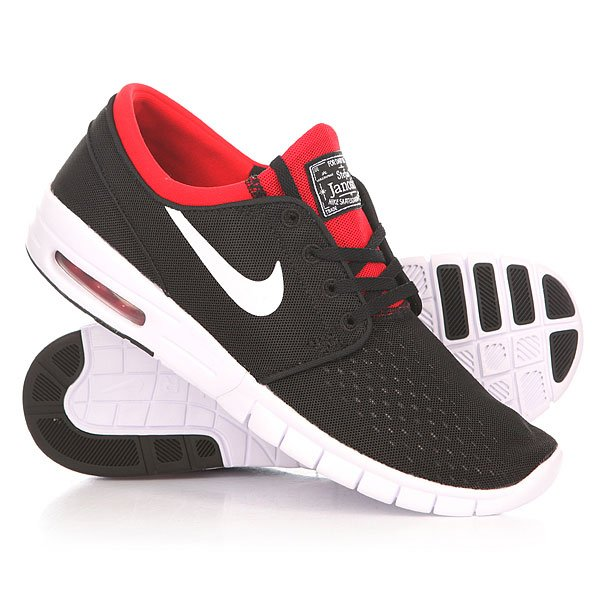 Кроссовки Nike Stefan Janoski Max Black/Red