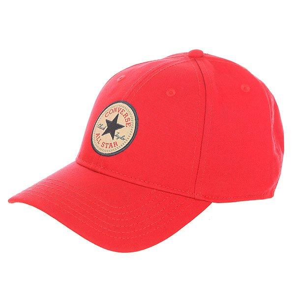 Бейсболка классическая Converse An Con001 Red