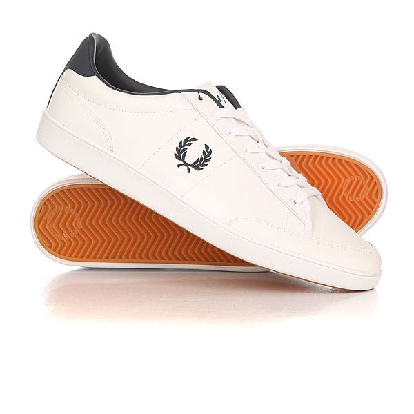 ���� ��������� ������ Fred Perry Hopman Leather Classic White