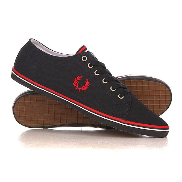 ���� ��������� ������ Fred Perry Kingston Twill Black