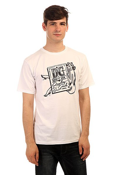 Футболка DC Strictly Ss Tees White