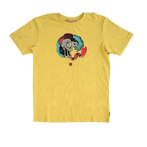 Футболка детская Billabong Hard Head Dust Yellow