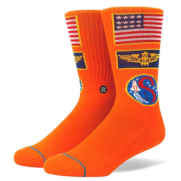 Носки средние Stance Anthem Commander Orange