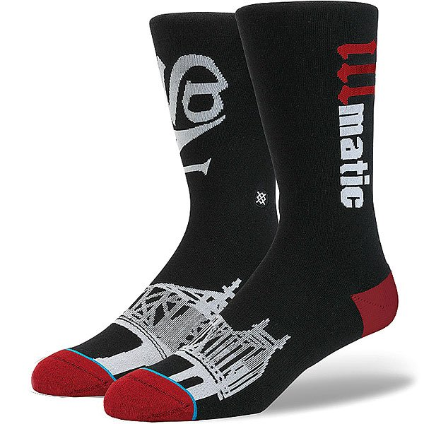 Носки средние Stance Anthem Legends Illmatic Black