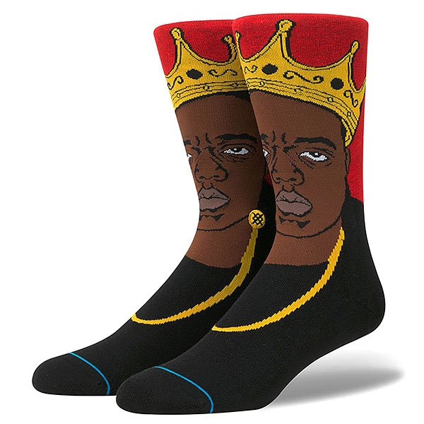Носки средние Stance Anthem Legends Notorious Big Red
