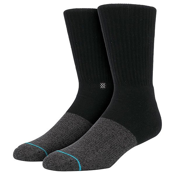 Носки средние Stance Side Step Transition Black/Gray