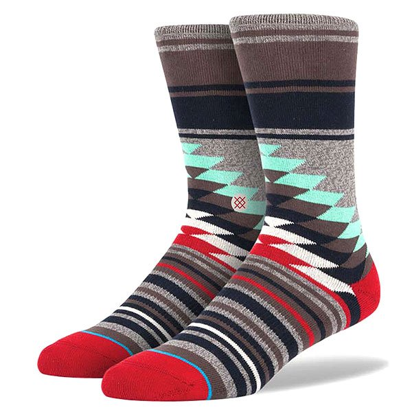 Носки средние Stance Sidestep Foundation Laredo Grey Heather