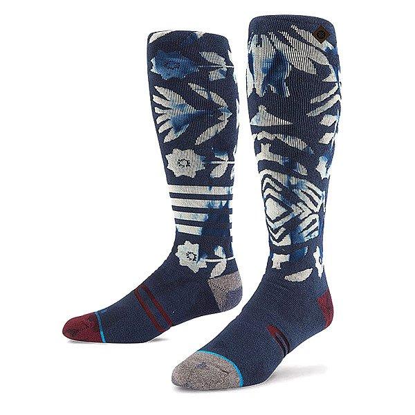Носки высокие Stance Snow A Tribe Called Shred Navy<br><br>Цвет: синий<br>Тип: Носки высокие<br>Возраст: Взрослый<br>Пол: Мужской