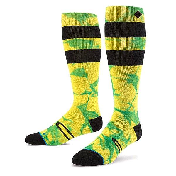 Носки высокие Stance Snow Burner Yellow<br><br>Цвет: черный,желтый,зеленый<br>Тип: Носки высокие<br>Возраст: Взрослый<br>Пол: Мужской