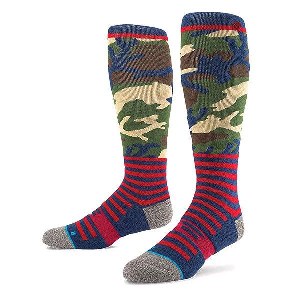 Носки высокие Stance Snow Redbone Camo