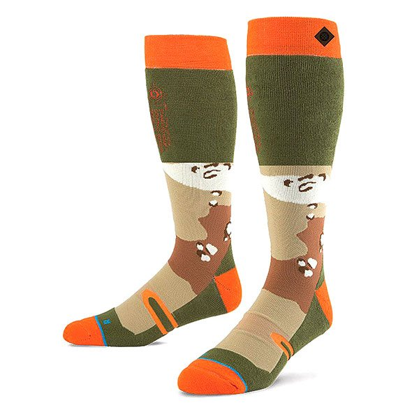 Носки высокие Stance Snow Regiment Camo