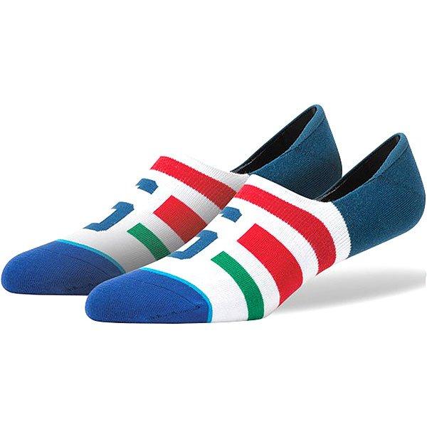 Носки низкие Stance Stance Blue Stomper White<br><br>Цвет: синий,белый,красный<br>Тип: Носки низкие<br>Возраст: Взрослый<br>Пол: Мужской