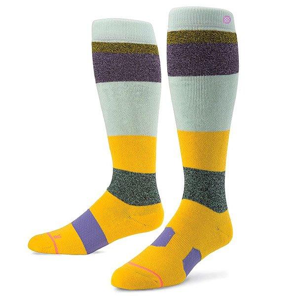 Носки высокие детские Stance Snow Sierra Purple<br><br>Цвет: мультиколор<br>Тип: Носки высокие<br>Возраст: Детский